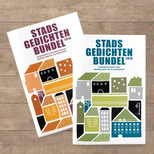 omslag stadsgedichtenbundel 2019