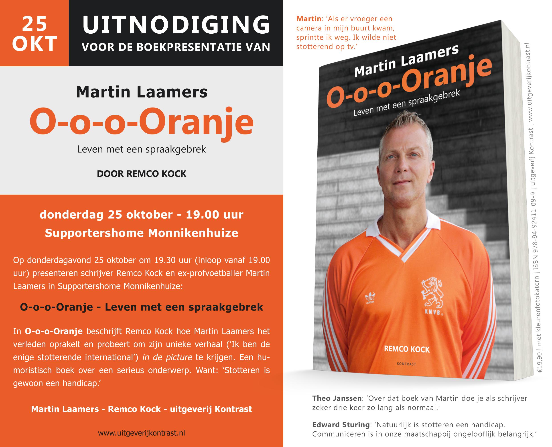 uitnodiging presentatie O-o-o-Oranje